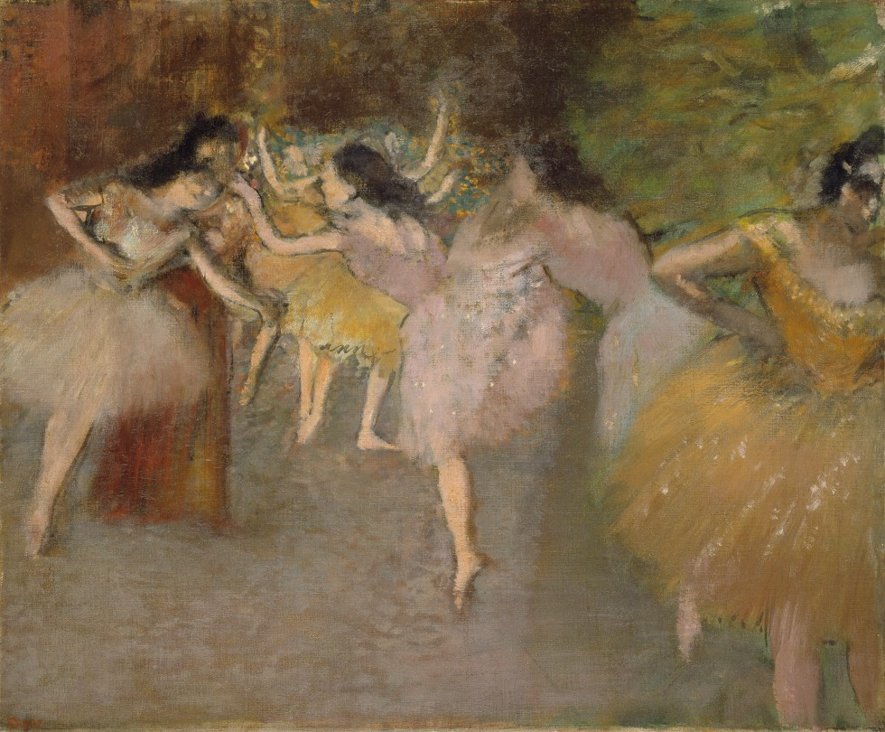 Rehearsal Before The Ballet Edgar Degas Springfield Museums