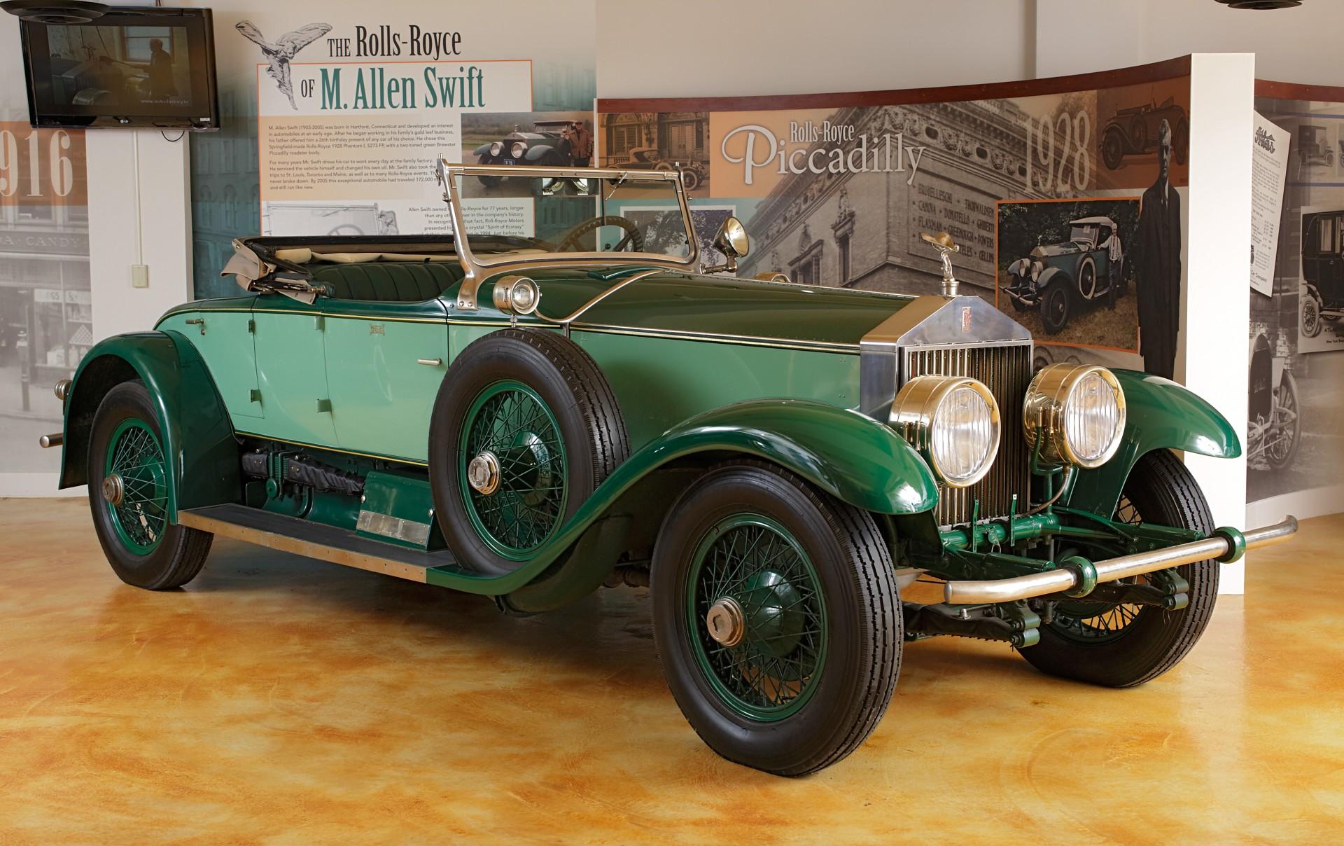 Rolls-Royce Phantom I, Rolls-Royce Company, Springfield ...