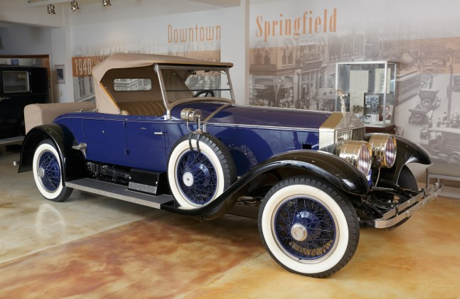 Rolls-Royce Silver Ghost Piccadilly Roadster, 1925