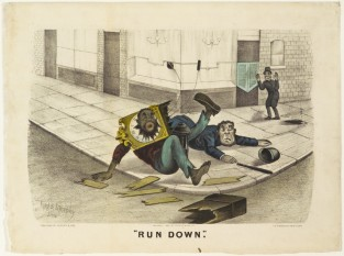 Run Down, Currier & Ives