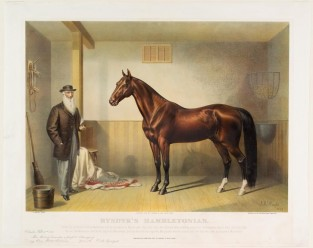Rysdyk's Hambletonian, Currier & Ives
