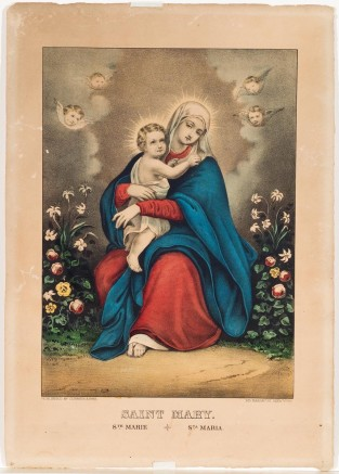 Saint Mary, Currier & Ives