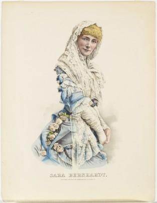 Sara Bernhardt, Currier & Ives