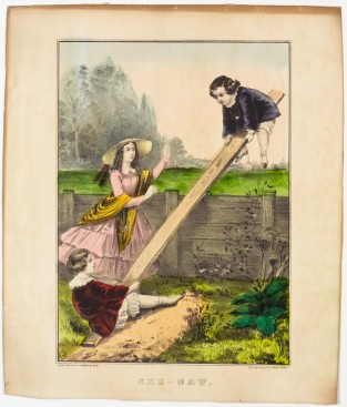 See-Saw, Currier & Ives