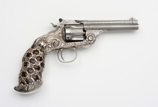 Smith & Wesson .38 Single Action Third Model Revolver, Ca. 1892, Smith & Wesson Co., Springfield, MA