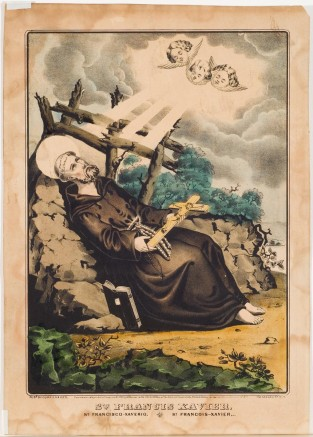 St. Francis Xavier, Currier & Ives