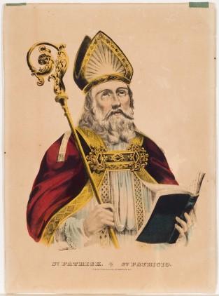 St. Patrick. St. Patricio, Currier & Ives