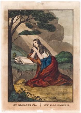 Sta. Madalena. Ste. Madeleine., Nathaniel Currier