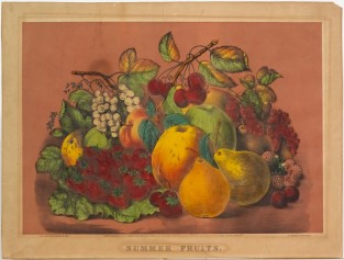 Summer Fruits, Currier & Ives