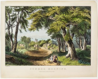 Summer Morning, Currier & Ives