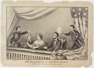 The Assassination Of President Lincoln, Currier & Ives