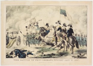 The Battle Of New-Orleans. Fought Jany. 8. 1815, Nathaniel Currier