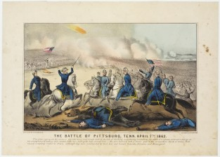 The Battle Of Pittsburg, Tenn. April 7th 1862, Currier & Ives
