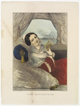 The Betrothed, Currier & Ives