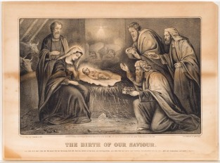 The Birth Of Our Saviour, Currier & Ives