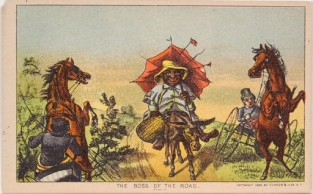 The Boss Of The Road, Currier & Ives