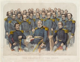 The Champions Of The Union, Currier & Ives