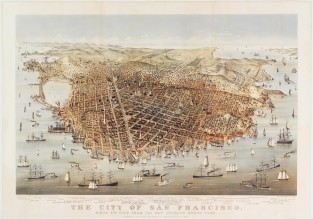 The City Of San Francisco, Currier & Ives