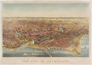 The City Of Washington, Currier & Ives