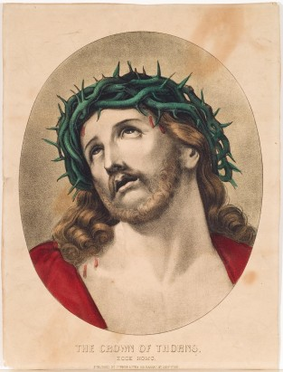 The Crown Of Thorns/Ecce Homo, Currier & Ives