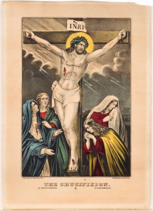 The Crucifixion, Currier & Ives