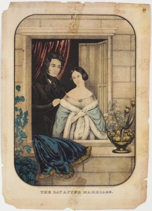 The Day After Marriage, Currier & Ives