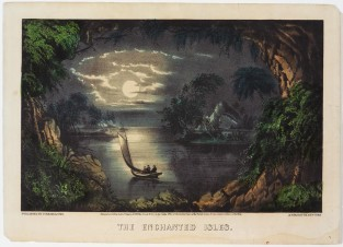 The Enchanted Isles, Currier & Ives