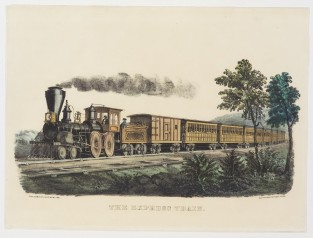 The Express Train, Currier & Ives