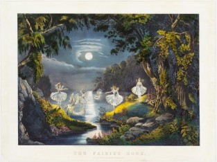 The Fairies Home, Currier & Ives