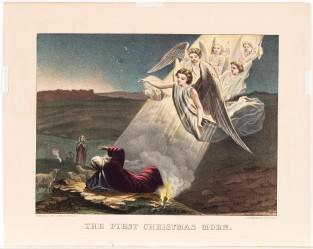 The First Christmas Morn, Currier & Ives