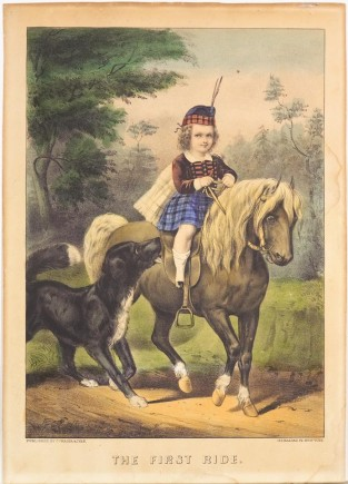 The First Ride, Currier & Ives