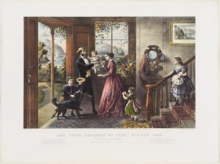 The Four Seasons Of Life: Middle Age, Currier & Ives