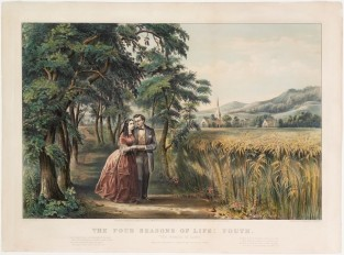 The Four Seasons Of Life: Youth, Currier & Ives