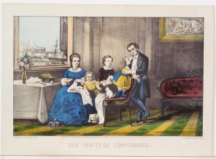 The Fruits Of Temperance, Currier & Ives