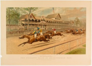 The Futurity Race At Sheepshead Bay, Currier & Ives