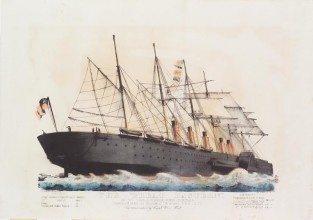 "The ""Great Eastern""., Currier & Ives"