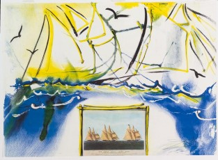 The Great Ocean Yacht Race Between The Henrietta, Fleetwing And Vesta., Salvador Dalí