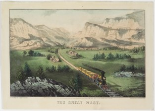 The Great West, Currier & Ives