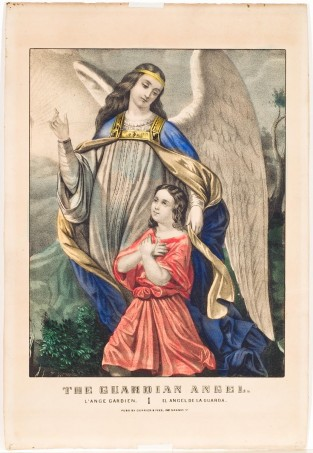 The Guardian Angel, Currier & Ives