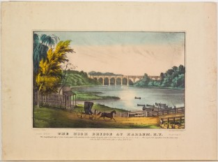 The High Bridge At Harlem, NY, Nathaniel Currier
