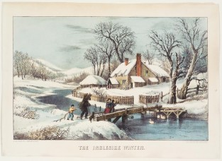 The Ingleside Winter, Currier & Ives