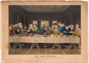 The Last Supper, Nathaniel Currier