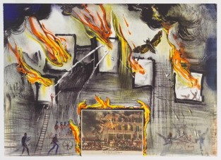 The Life Of A Fireman, Salvador Dali