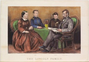 The Lincoln Family, Currier & Ives