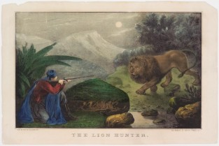 The Lion Hunter, Nathaniel Currier