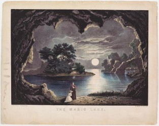 The Magic Lake, Currier & Ives
