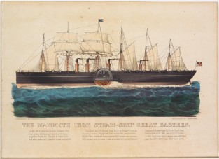 The Mammoth Iron Steamship GREAT EASTERN., Currier & Ives