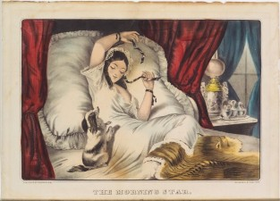 The Morning Star, Currier & Ives