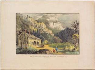 The Notch House, White Mountain, New Hampshire., Currier & Ives