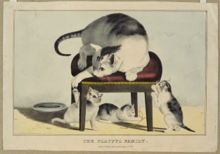 The Playful Family, Nathaniel Currier